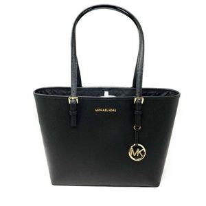 Michael Kors Black Jet Set Tote